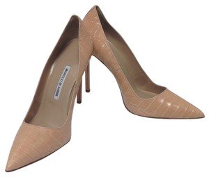 Manolo Blahnik Blush beige Pumps
