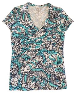 Lilly Pulitzer T Shirt Shorely blue