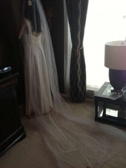 Ansonia Bridal Ivory Long #237 New Without Tag Bridal Veil