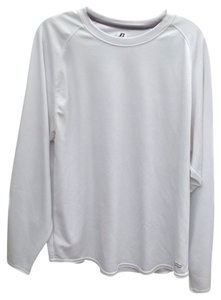 Russell Athletic Russell unisex size Large white Dri-Power multi-sport long sleeve athletic top