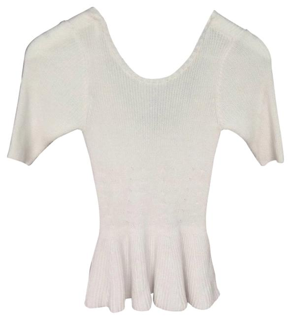 Preload https://item5.tradesy.com/images/guess-white-peplum-casual-daytime-sweaterpullover-size-0-xs-1475629-0-0.jpg?width=400&height=650
