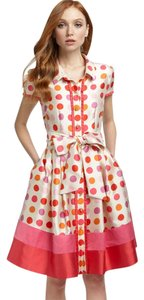 Kate Spade Silk Party Dots Dress