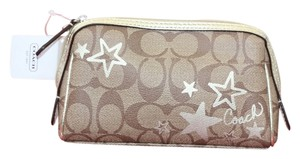 Coach Coach Cosmetic bag With Star Design New with Tags!