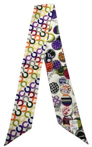 Coach Coach Tossed Button Ponytail Scarf - 98855