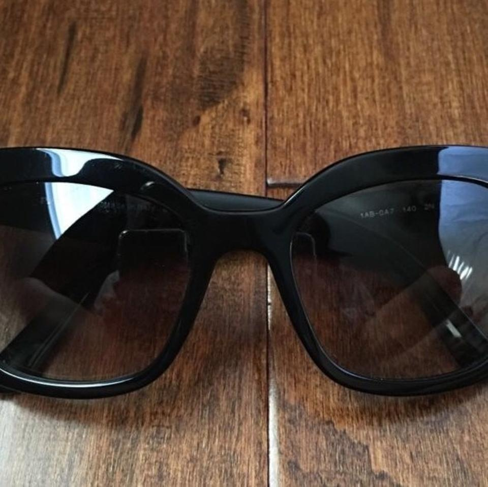 ed2cfe833689 Prada Black Asian Fit Sunglasses - Tradesy