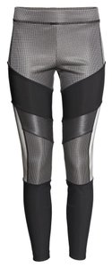 Alexander Wang H&m Reflective Size 4 Gray Black Silver Gift Limited Limited Edition Rare Multicolor Leggings