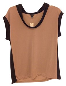 Ann Taylor Top Brown and black