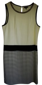 Spense short dress Black, Beige on Tradesy
