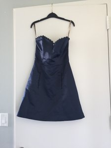 Lela Rose Midnight (Navy) Lr104-r Dress