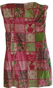 Lilly Pulitzer short dress Strapless on Tradesy