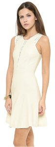 Rebecca Taylor Lace Sleeveless Flair Dress