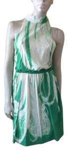 Alice + Olivia short dress Green/White on Tradesy