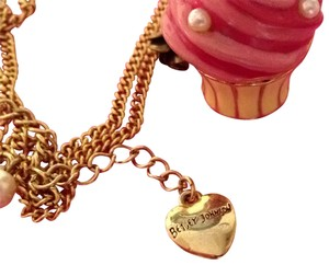 Betsey Johnson long chain necklace