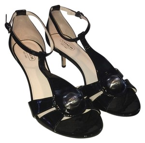 Coach Black Patent Pumps