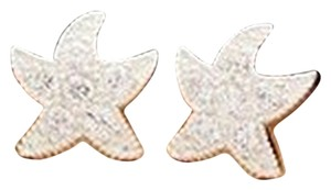 Other Starfish Simulated Diamond Stud Earrings - Shipping Included VIA USPS