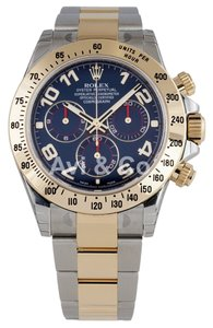 Rolex Rolex Cosmograph Daytona Steel & Yellow Gold Blue Dial 116523
