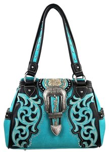 Montana West Buckle Conceal Pocket Shoulder Bag