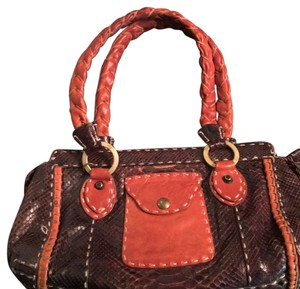 Giorgio G Satchel in Brown