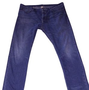 Burberry Straight Leg Jeans-Medium Wash