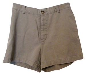 Gap Button High Waist Mini/Short Shorts khaki