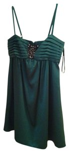 BCBGMAXAZRIA Babydoll Beaded Dress