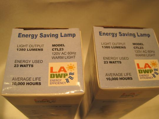 Other 10-Energy Saving 10,000 Hour Compact Florescent Light Bulbs (Model# CTL23) - [ Roxanne Anjou Closet ]