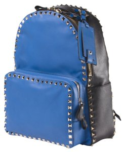 Valentino Colorblock Rockstud Backpack