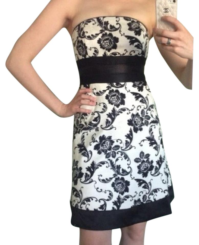 White House Black Market Whbm Strapless Dress