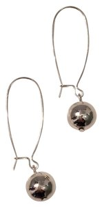 Ralph Lauren Silver Ball Drop Earrings