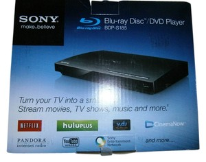 Sony Brand new Sony Blu-ray Disc/DVD Player turns your tv into a smart tv
