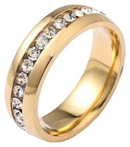 rigant Tennis Ring With CZ Size 9