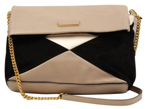 Marc by Marc Jacobs Leather Suade Shoulder Bag
