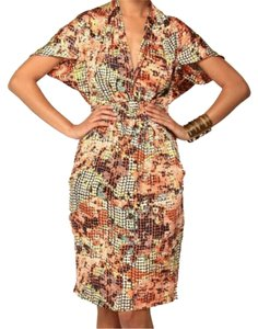 Fashionette Style Boutique short dress Multi / Orange on Tradesy