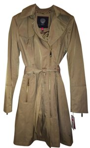 Vince Camuto Trench Rain Gold Trench Coat