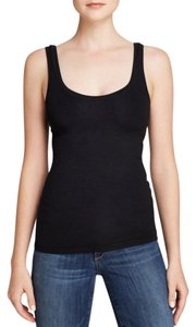 Theory Spring Summer Casual Cotton Top Black