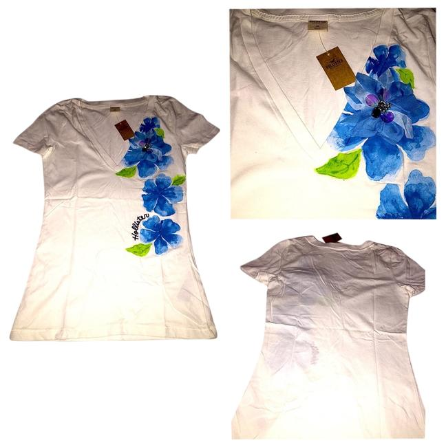Hollister T Shirt White