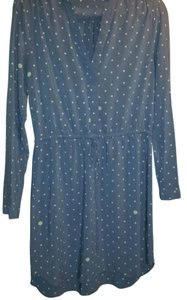 Gap short dress Rayon Longsleeve Polka Dot Comfortable on Tradesy