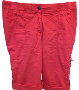 Chico's Cargo Shorts Red