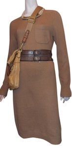 Pippa short dress Camel on Tradesy