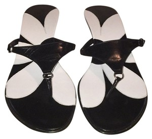 Coach Black/white Sandals