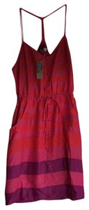 American Eagle Outfitters short dress Pink, Orange , snd Purple Sundress on Tradesy