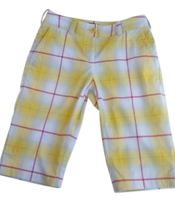 Item - Yellow and Pink Golf Dri-fit Tour Performance Shorts Size 2 (XS, 26)