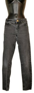 White House | Black Market Regular Stretchy Straight Leg Jeans-Dark Rinse