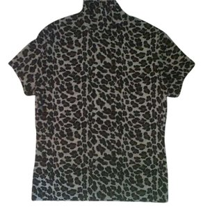 Frazier Lawrence Top Leopard Print