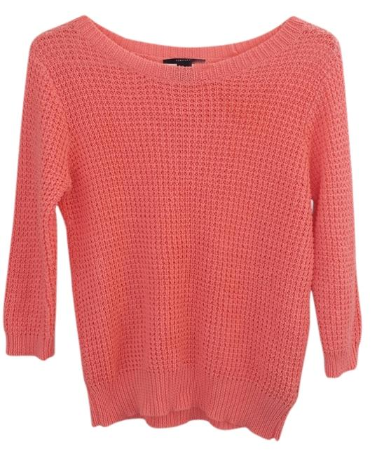 Preload https://img-static.tradesy.com/item/1476601/forever-21-coral-knit-sweaterpullover-size-4-s-0-0-650-650.jpg