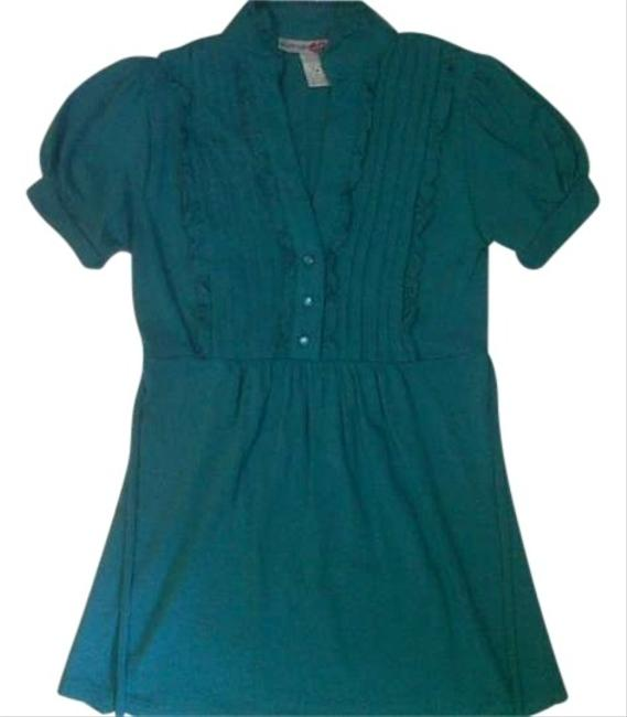 Body Central Top Teal