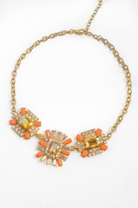 Other Multi Stone Deco Statement Necklace