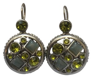 Chico's Peridot Gem Earrings