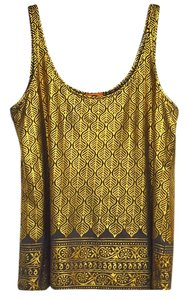 Tory Burch Top Gold/Multi