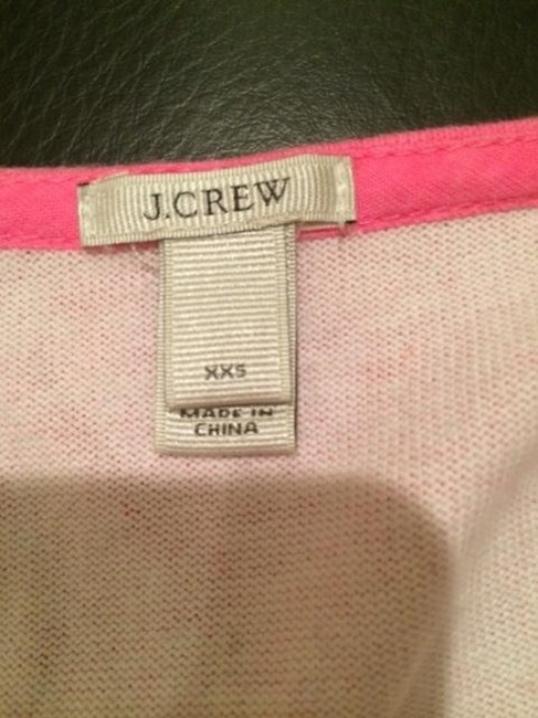 J.Crew Striped Longsleeve Pink Nautical Top